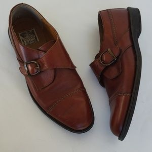 Property Cap Toe Monk Strap Loafers